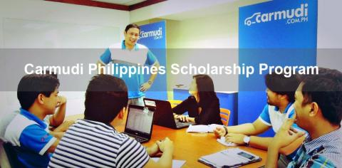 Carmudi Philippines Scholarship Program  The Carmudi Philippines Scholarship Program has been created to support and encourage diligent students currently studying in the areas of Economics, Business, Marketing, Communications, Media, IT and Engineering.   About Carmudi Philippines  Carmudi Philippines (http://www.carmudi.com.ph/) is an online car buy and sell website offering the best automotive deals in the Philippines today. Established in 2013, Carmudi Philippines is one of the leading vehicle marketpla